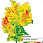 Wo in Deutschland viel gestritten wird